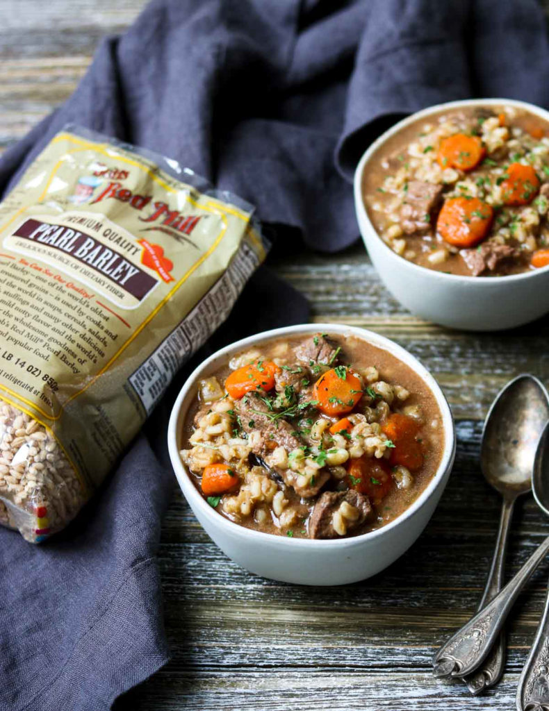 Bob's Red Mill Barley with Beef Barley Soup