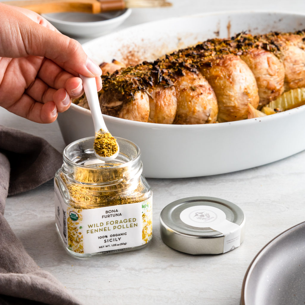 Product photography for Bona Furtuna- pork and fennel pollen